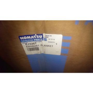 New Komatsu Exhaust Blanket EJ3261