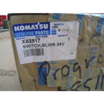 XA2817 Komatsu Blower Switch