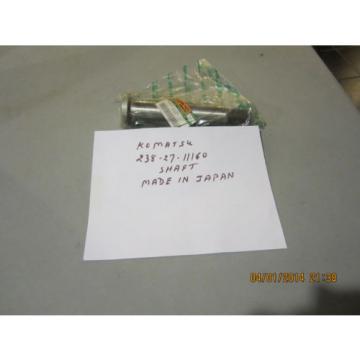 Komatsu 238-27-11160 Shaft Genuine