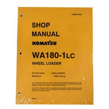 Komatsu WA180-1LC Wheel Loader Service Manual