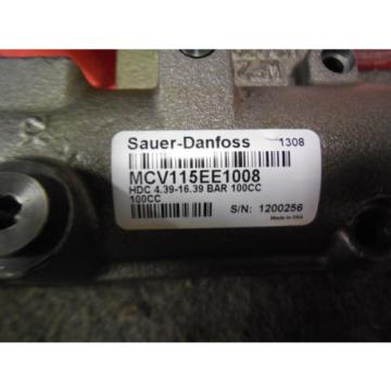 NEW SAUER DANFOSS HYDRAULIC DISPLACEMENT VALVE MCV115EE1008