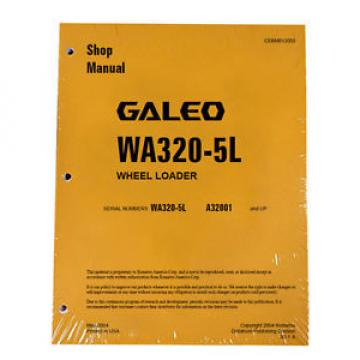 Komatsu WA320-5L Wheel Loader Service Repair Manual