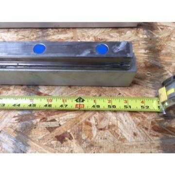 REXROTH Canada India  2 Rails  Guide Linear bearing CNC Route  model 7873 7210 13Q1 50""