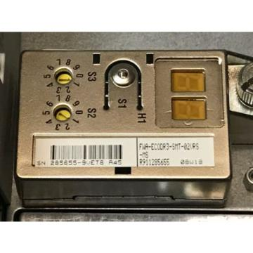 REFURBBED Germany Japan REXROTH SERVO DRIVE DKCXX.3-100-7 DKC01.3-100-7-FW FWA-ECODR3-02VRS-MS