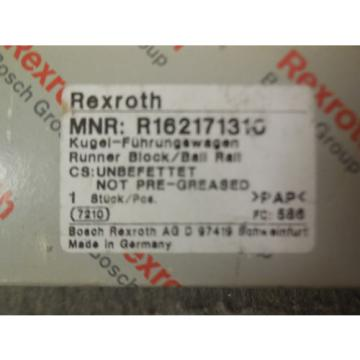 NEW Italy china REXROTH LINEAR BLOCK BEARING R162171310