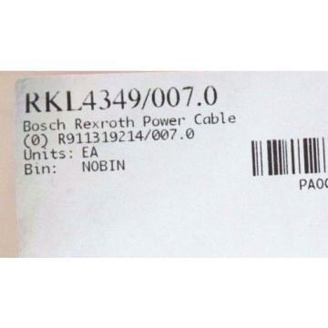 NEW USA France REXROTH RKL4349 CABLE 7.00M LENGTH RKL4349/007.0