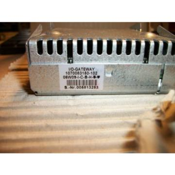 Rexroth Japan USA Bosch I/O Gateway 1070083150