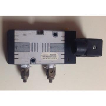 REXROTH Singapore India PS-031010-01355 120V-AC 1/4 IN NPT PNEUMATIC SOLENOID VALVE
