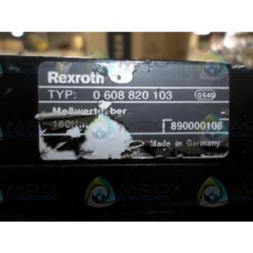 REXROTH Italy Australia 0608820103 SERVO AMP *USED*