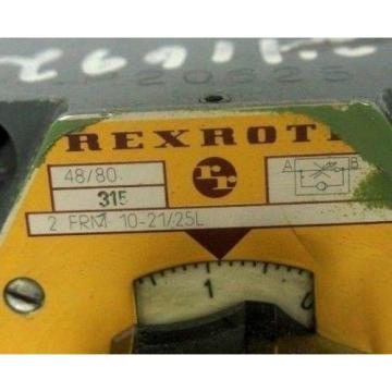 REXROTH Korea Greece 2FRM10-21/25L FLOW CONTROL VALVE 2FRM102125L