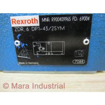 Rexroth Italy Australia Bosch R900409965 Valve ZDR 6 DP1-43/25YM - New No Box