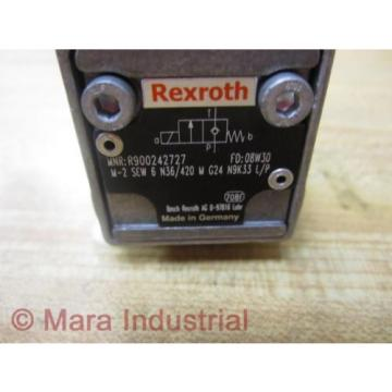 Rexroth Mexico Korea Bosch Group R900242727 Valve - New No Box