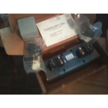 NEW Canada USA BOSCH REXROTH GS-040042-02626 5P 4-WAY 3POS 120V DOUBLE SOLENOID CERAM VALVE