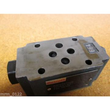 Rexroth Mexico Japan R900347498 Z2S6A1-64 Valve New