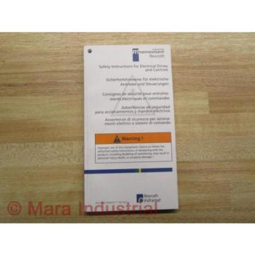 Mannesmann Japan Australia / Rexroth SV01-MS-P Manual 120-1300-B305