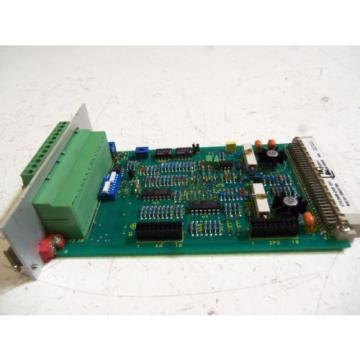 REXROTH USA Korea VTS 0609-2X/E *USED*