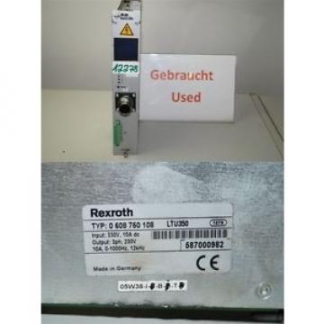 Rexroth Canada Canada LTU350 servo amplifier 0 608 750 108 , 0608750108