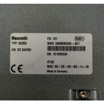 Rexroth Russia Greece SE352, 0608830262-AE1 Control Unit