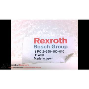 REXROTH Dutch Australia 2-650-100-040 NON-CONTACT TRANSFER UNIT, OPERATING TYPE:, NEW #206437
