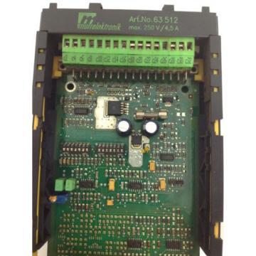MURR France Germany ELEKTRONIK 63512 REXROTH HYDRAULICS CIRCUIT BOARD VSPA1