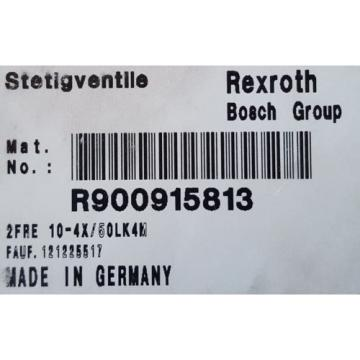 NEW!! USA Canada  REXROTH 2FRE10-44/50LK4M CONTROL VALVE R900915813  2FRE 10-44/50 BOSCH