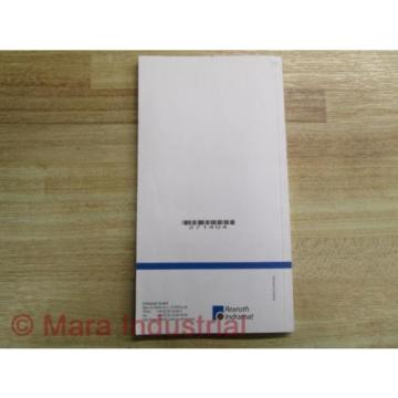 Mannesmann Korea India / Rexroth SVS1-MS-P Manual 209-0069-4102-00 (Pack of 3)