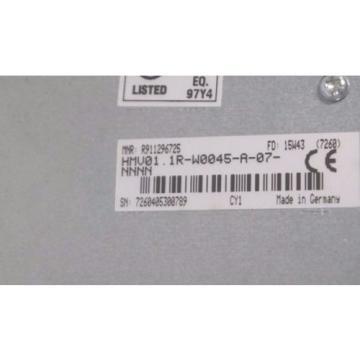 NEW Singapore Canada REXROTH HMV01.1R-W0045-A-07-NNNN POWER SUPPLY DRIVE R911296725