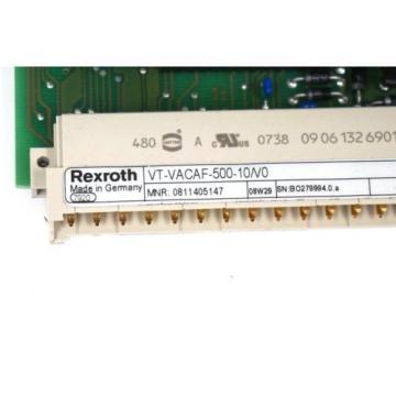 NEW Canada Dutch REXROTH VT-VACAF-500-10/V0 AMPLIFIER CARD 0811405147, VTVACAF50010V0