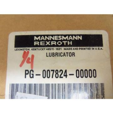 MANNESMANN Egypt Japan REXROTH PG-007824-00000 LUBRICATOR *NEW IN BOX*
