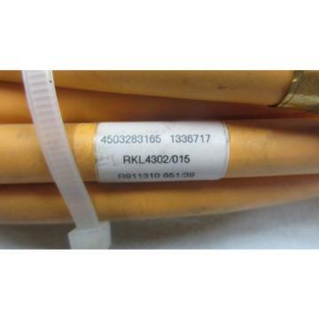 Rexroth Egypt India Indramat Steuerleitung RKL4302 15m