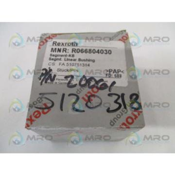 REXROTH Mexico Canada R066804030 LINEAR BUSHING *NEW IN BOX*