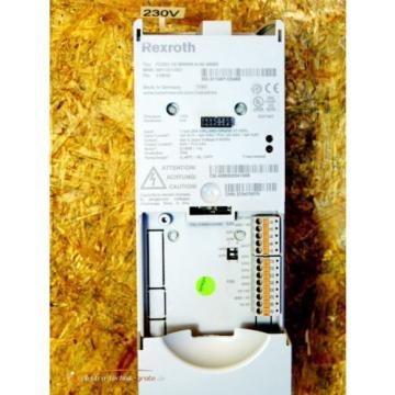 Rexroth Australia Japan FCS01.1E-W0008-A-02-NNBV IndraDrive Frequenzumrichter   >ungebraucht!<