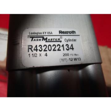 "Rexroth Mexico India TM-813000-03040, 1-1/2x4 Task Master Cylinder, R432022134, 1-1/2"" Bore"
