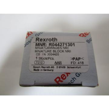 REXROTH Canada USA MINIATURE BLOCK R044271301 *NEW IN BOX*