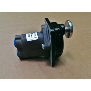 "Rexroth Greece India 2-BA-1 Push Button Operated 1/4"" Pneumatic Valve R431003430 P54692-6"