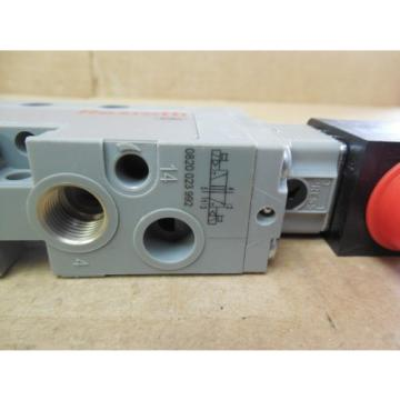 Rexroth Germany Singapore Double Solenoid Valve 0820 023 992 0820023992 143 PSI 24 VDC New