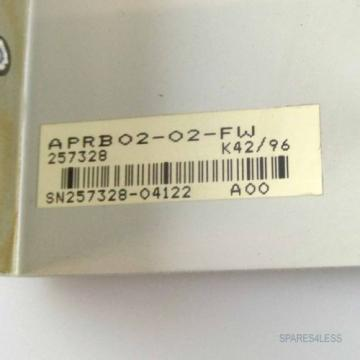 Rexroth Germany Canada Indramat Sercos-Interface APRB02-02-FW 257328 GEB
