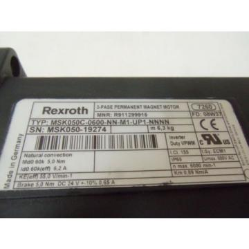 REXROTH Singapore Australia MSK050C-0600-NN-M1-UP1-NNNN SERVO MOTOR *NEW IN BOX*