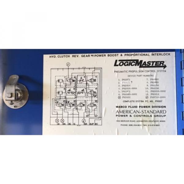 Logic Korea USA Master Control Panel- P90007 American Standard/ Wabco / Rexroth #4 image