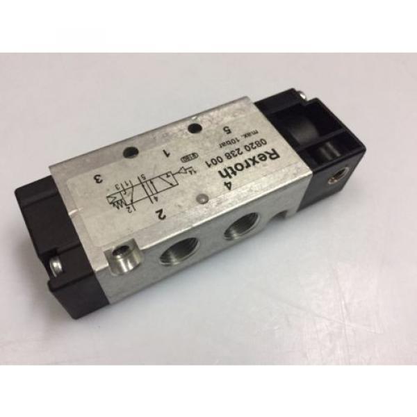 0820238001 Australia India Aventics/ Rexroth 5/2-1/8 in Pneumatic Directional Control Valve #2 image
