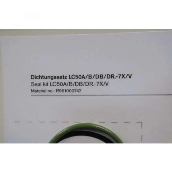 NEW USA Greece REXROTH R961000747 LC50A/B/DB/DR.-7X/V SEAL KIT D553278 #8 image