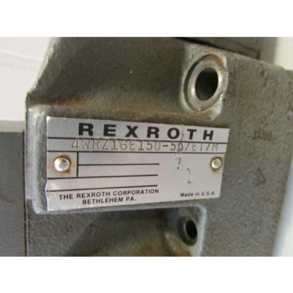 Rexroth Canada Dutch 4WRZ16E150-50/ET/M Hydraulic Valve. #2 image