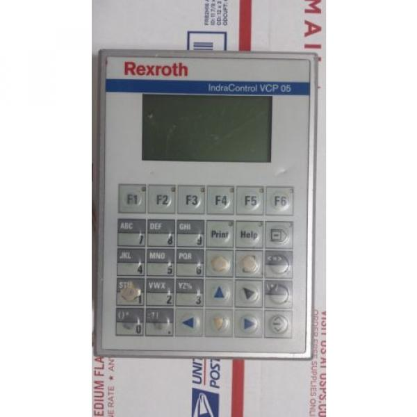 Rexroth Germany Greece IndraControl VCP 05 with PROFIBUS DP slave VCP05.2DSN-003-PB-NN-PW #2 image