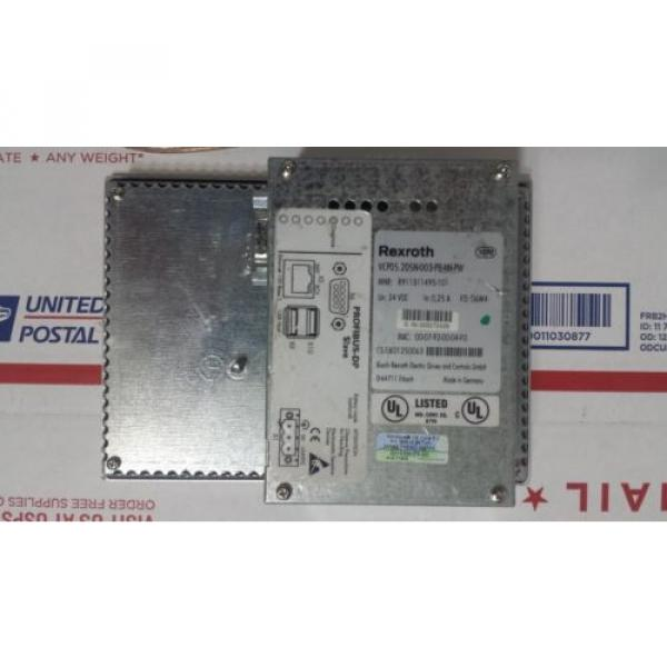 Rexroth Germany Greece IndraControl VCP 05 with PROFIBUS DP slave VCP05.2DSN-003-PB-NN-PW #3 image