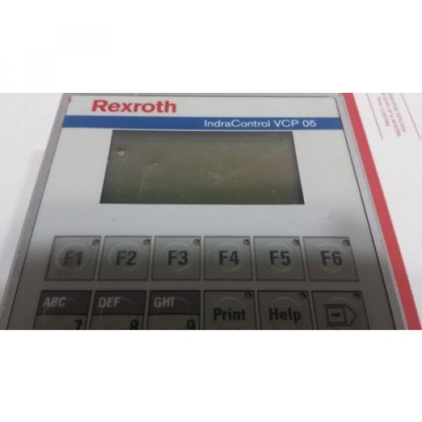 Rexroth Germany Greece IndraControl VCP 05 with PROFIBUS DP slave VCP05.2DSN-003-PB-NN-PW #12 image
