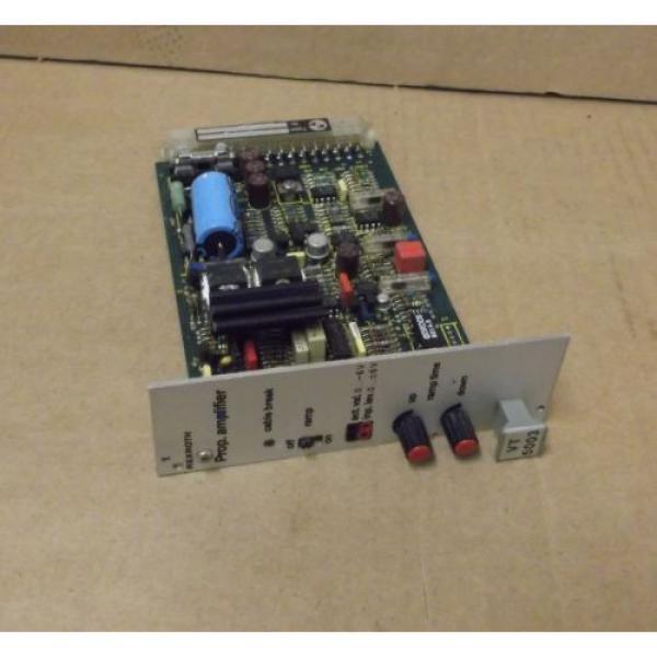 Rexroth Japan Singapore Proportional Amplifier VT5003 S32 R1 #1 image