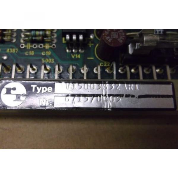 Rexroth Japan Singapore Proportional Amplifier VT5003 S32 R1 #3 image
