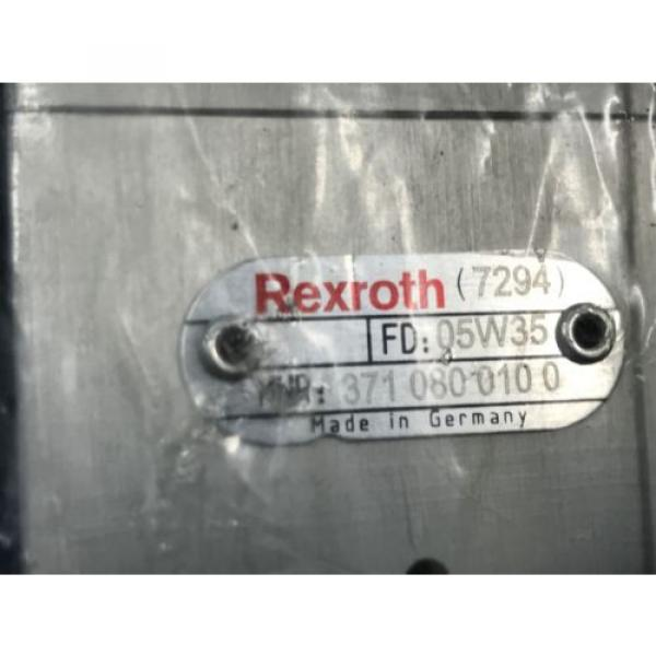 NEW France Egypt REXROTH 371 080 010 0 DIRECTIONAL CONTROL VALVE 3710800100 (U3) #7 image