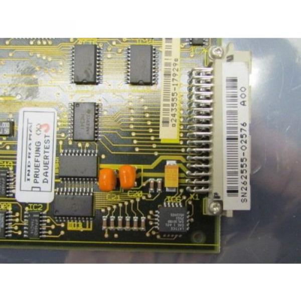 Indramat Russia Egypt Rexroth DAE 1.1 109-0785-4B19-04 4A19 PC Board #4 image
