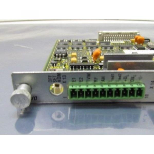 Indramat Russia Egypt Rexroth DAE 1.1 109-0785-4B19-04 4A19 PC Board #7 image